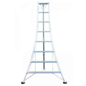 Aluminium Garden Tripod Ladders 1 Leg Adjustable