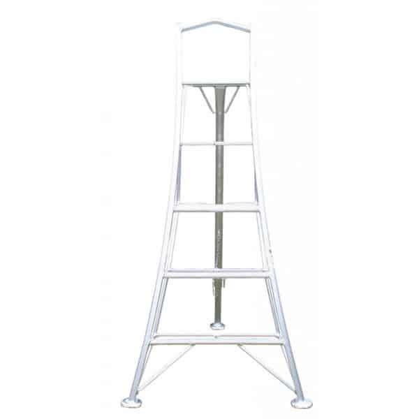 Aluminium Platform Tripod Ladders 1 Adjustable Leg