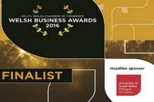 TB Davies Finalist Welsh Business Awards