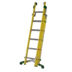 TB Davies Industrial Fibreglass Combination Ladder