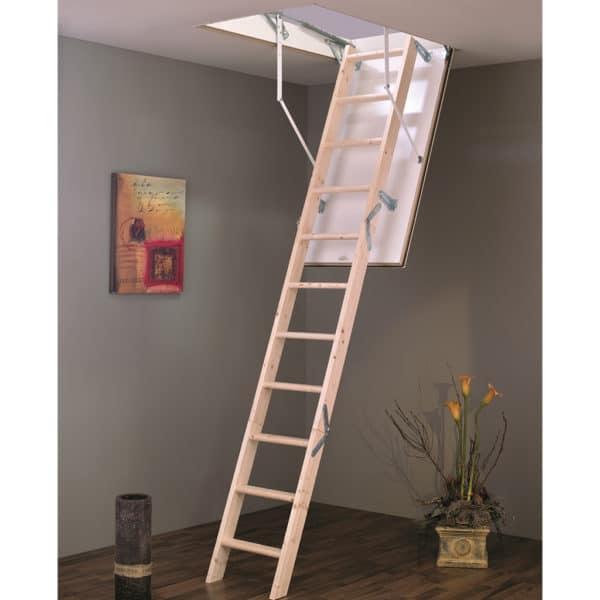 TB Davies EuroFold Timber Folding Loft Ladders
