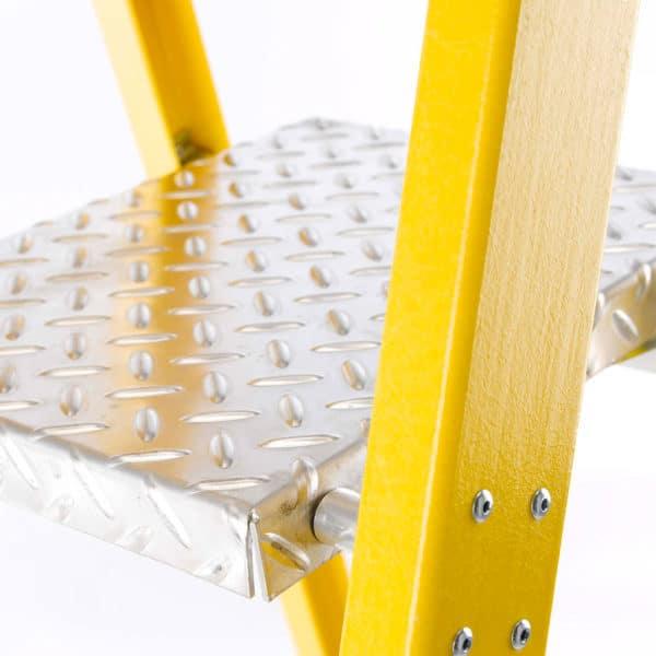 TB Davies Fibreglass Platform Step Ladders