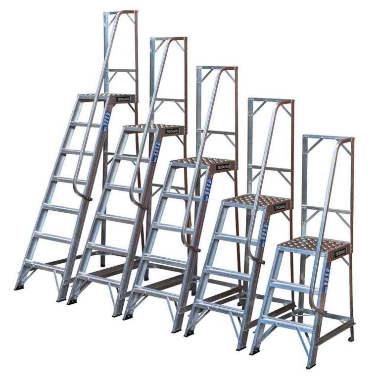 Industrial Machine Steps