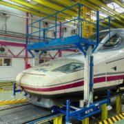 Height Adjustable Rail Access Platform