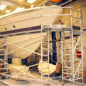 Modular Access Platform for Boat Manufacturing