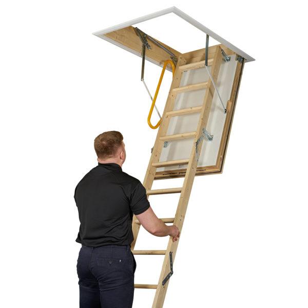 LuxFold Timber Folding Loft Ladder