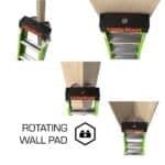 Little Giant King Kombo Rotating Wall Pad