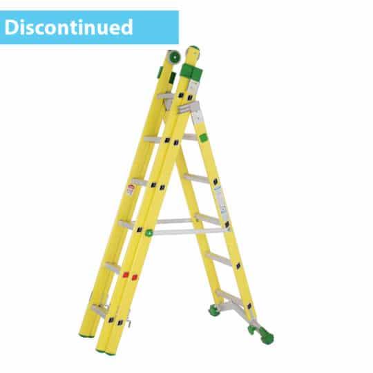 Heavy-Duty Fibreglass GRP Combination Ladder